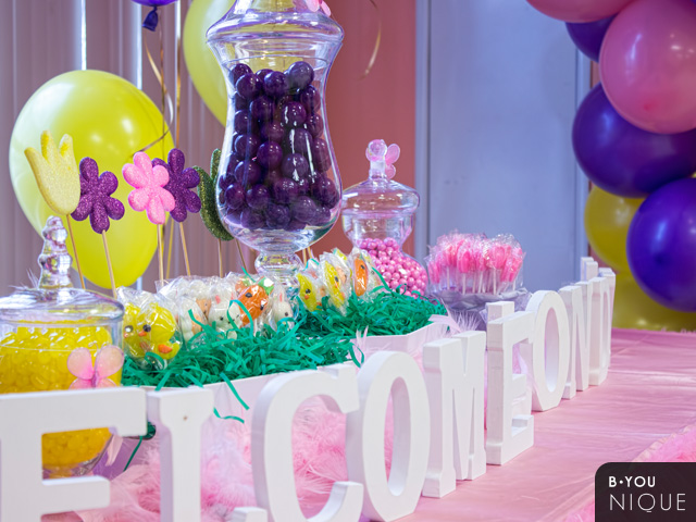 spring baby welcome party