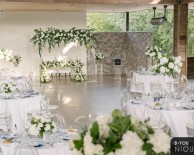 Clear Acrylic Chuppah at The Guildinn